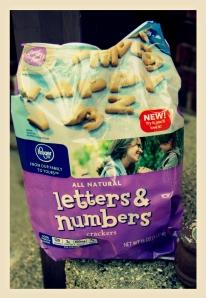 alphabet snacks